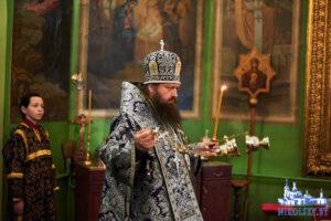 Страстная седмица Великая среда Служение епископа