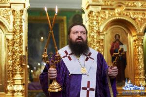 Страстная седмица Великий четверг Служение епископа