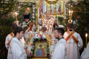 Именины настоятеля Никольского монастыря