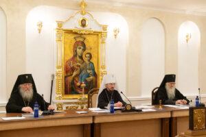На заседании Синода Белорусской Православной Церкви огласили завещание митрополита Филарета