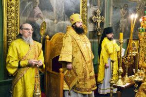 Божественная литургия в субботу перед Рождеством Христовым