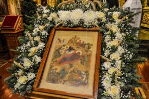 Литургия св. Василия Великого в Рождественский Сочельник