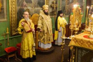 Литургия в день памяти священномученика Ермогена