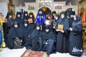 Монашеский и иноческий постриг в Тихвинском женском монастыре в г. Гомеле